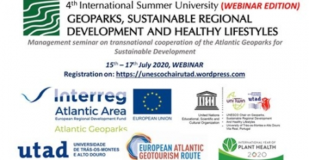 Geoparque Açores - Webinar - Geoparks, Sustainable Regional Development and Healthy Lifestyles